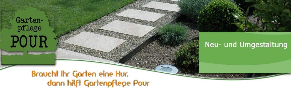 Gartenpflege pour neu und umgestaltung for Anlegen von gartenteichen